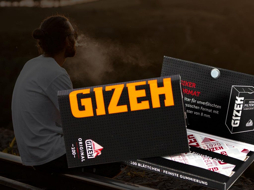 Gizeh Verpackung Magnet